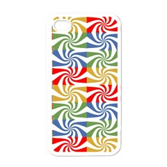 Candy Pattern  Apple iPhone 4 Case (White)