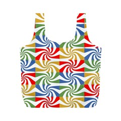 Candy Pattern  Full Print Recycle Bags (m)
