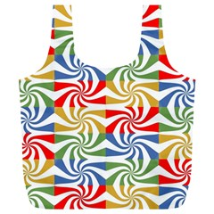 Candy Pattern  Full Print Recycle Bags (l)
