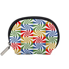 Candy Pattern  Accessory Pouches (small)