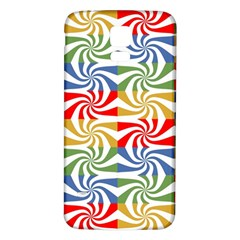 Candy Pattern  Samsung Galaxy S5 Back Case (White)