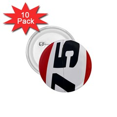 Car Auto Speed Vehicle Automobile 1.75  Buttons (10 pack)