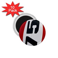 Car Auto Speed Vehicle Automobile 1.75  Magnets (10 pack)