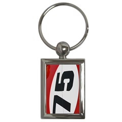 Car Auto Speed Vehicle Automobile Key Chains (rectangle)