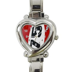 Car Auto Speed Vehicle Automobile Heart Italian Charm Watch
