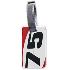 Car Auto Speed Vehicle Automobile Luggage Tags (Two Sides)