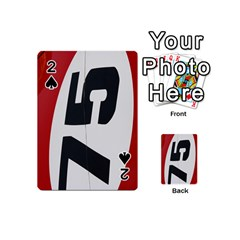 Car Auto Speed Vehicle Automobile Playing Cards 54 (Mini)