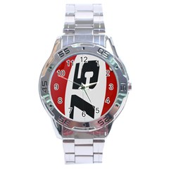 Car Auto Speed Vehicle Automobile Stainless Steel Analogue Watch