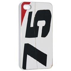 Car Auto Speed Vehicle Automobile Apple iPhone 4/4s Seamless Case (White)
