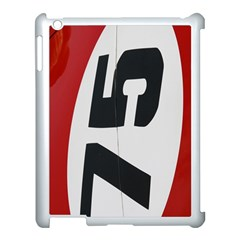 Car Auto Speed Vehicle Automobile Apple iPad 3/4 Case (White)