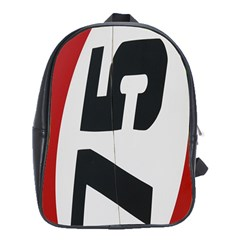 Car Auto Speed Vehicle Automobile School Bags (xl)