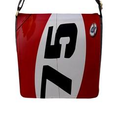 Car Auto Speed Vehicle Automobile Flap Messenger Bag (L)