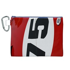 Car Auto Speed Vehicle Automobile Canvas Cosmetic Bag (XL)