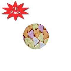Candy Pattern 1  Mini Buttons (10 pack)