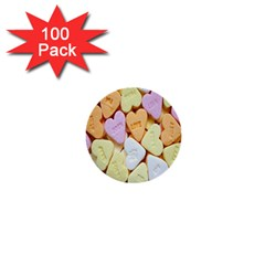Candy Pattern 1  Mini Buttons (100 pack)
