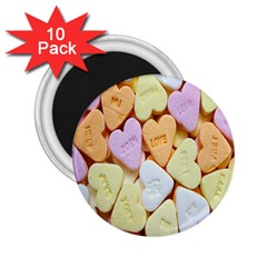 Candy Pattern 2.25  Magnets (10 pack)