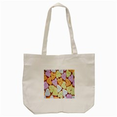 Candy Pattern Tote Bag (cream)