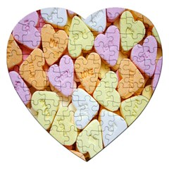 Candy Pattern Jigsaw Puzzle (Heart)