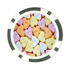 Candy Pattern Poker Chip Card Guard (10 pack)