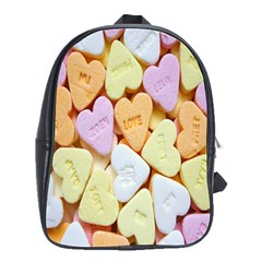 Candy Pattern School Bags(Large)
