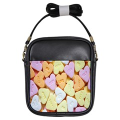 Candy Pattern Girls Sling Bags