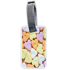 Candy Pattern Luggage Tags (one Side)