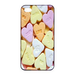 Candy Pattern Apple iPhone 4/4s Seamless Case (Black)