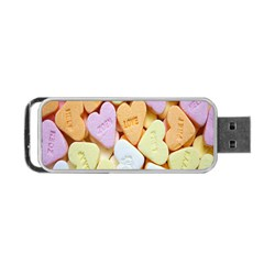Candy Pattern Portable Usb Flash (two Sides)