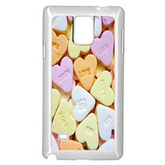 Candy Pattern Samsung Galaxy Note 4 Case (White)
