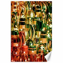 Candles Christmas Market Colors Canvas 20  x 30