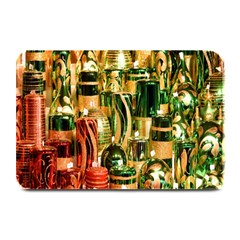 Candles Christmas Market Colors Plate Mats