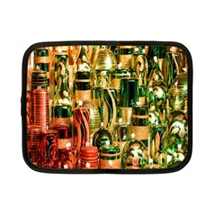 Candles Christmas Market Colors Netbook Case (small)