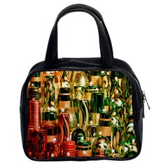 Candles Christmas Market Colors Classic Handbags (2 Sides)