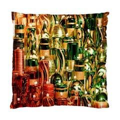 Candles Christmas Market Colors Standard Cushion Case (Two Sides)