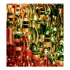 Candles Christmas Market Colors Shower Curtain 66  x 72  (Large)