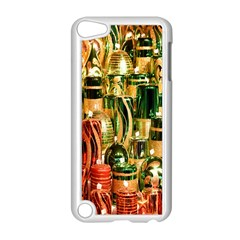 Candles Christmas Market Colors Apple iPod Touch 5 Case (White)