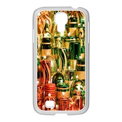 Candles Christmas Market Colors Samsung Galaxy S4 I9500/ I9505 Case (white)
