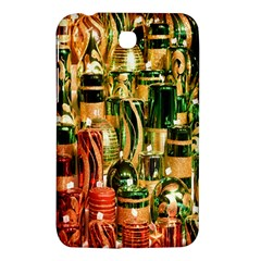 Candles Christmas Market Colors Samsung Galaxy Tab 3 (7 ) P3200 Hardshell Case