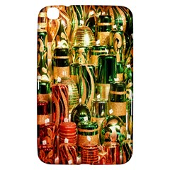 Candles Christmas Market Colors Samsung Galaxy Tab 3 (8 ) T3100 Hardshell Case