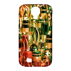 Candles Christmas Market Colors Samsung Galaxy S4 Classic Hardshell Case (pc+silicone)
