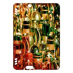 Candles Christmas Market Colors Kindle Fire Hdx Hardshell Case