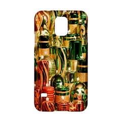 Candles Christmas Market Colors Samsung Galaxy S5 Hardshell Case