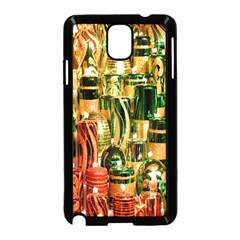 Candles Christmas Market Colors Samsung Galaxy Note 3 Neo Hardshell Case (Black)