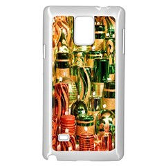 Candles Christmas Market Colors Samsung Galaxy Note 4 Case (white)
