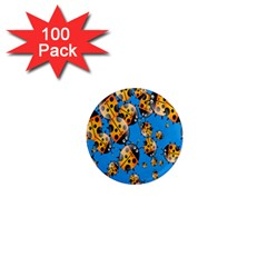 Cartoon Ladybug 1  Mini Magnets (100 pack)