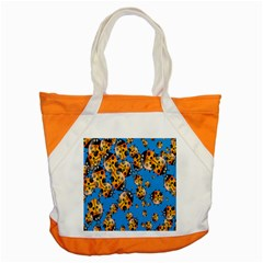 Cartoon Ladybug Accent Tote Bag