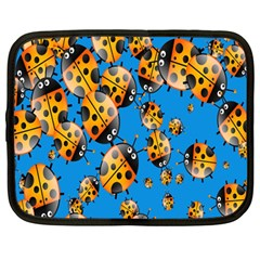 Cartoon Ladybug Netbook Case (Large)