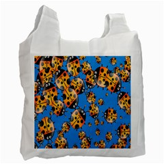 Cartoon Ladybug Recycle Bag (One Side)