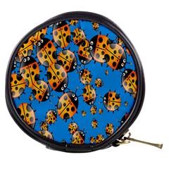Cartoon Ladybug Mini Makeup Bags
