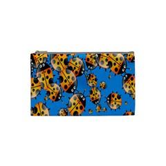 Cartoon Ladybug Cosmetic Bag (Small)